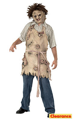 Leatherface Latex Apron Adult