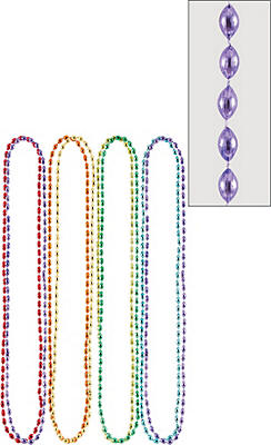 Multicolor Bead Necklaces 8ct