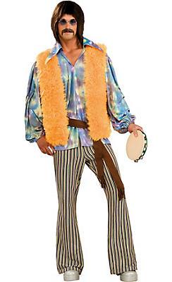 Adult Hippie Dude Costume