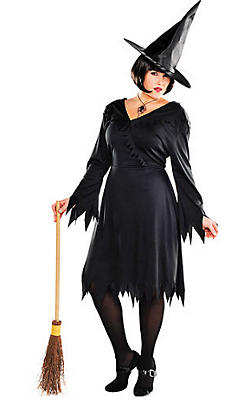 Adult Classic Witch Costume Plus Size