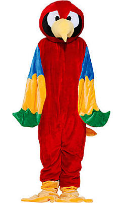Adult Mascot Parrot Costume