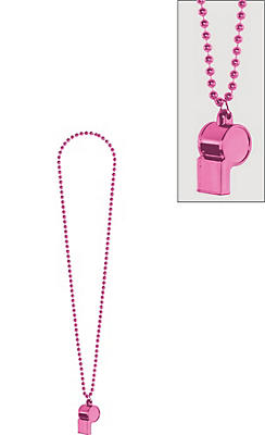 Pink Whistle Necklace