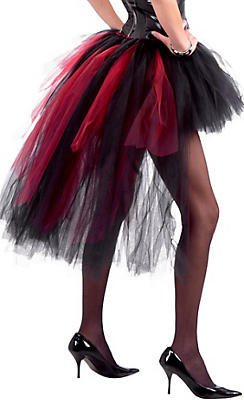 Adult Vampiress Burlesque Tutu