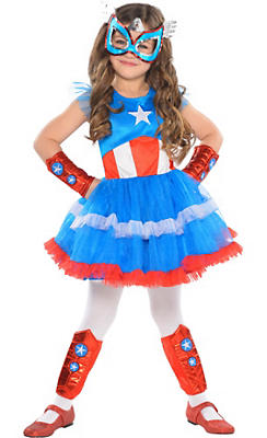 Child American Dream Tutu Dress