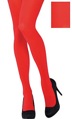Adult Red Tights