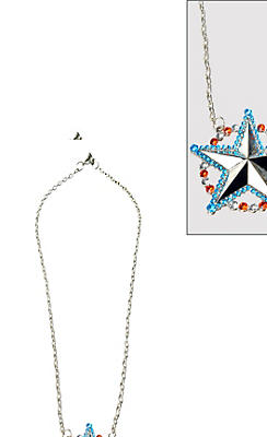 Beaded American Dream Necklace