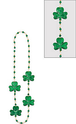 Pearl & Shamrock Necklace