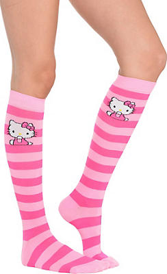 Hello Kitty Knee-High Socks