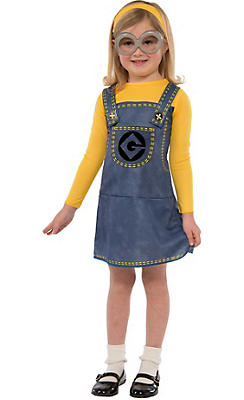 Child Minion Dress Costume Accessory Kit 3pc - Despicable Me