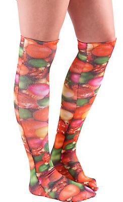 Christmas Ornament Knee-High Socks
