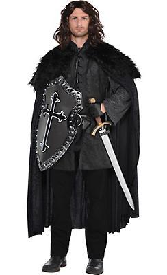 Black Fur Cloak