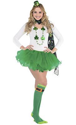 Adult Shamrock St. Patrick's Day Costume