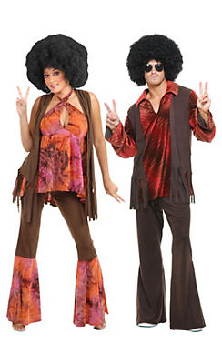 San Francisco Hippie Couples Costumes