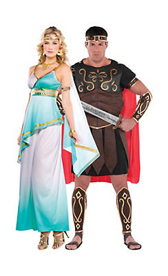 Greco Roman Couples Costumes