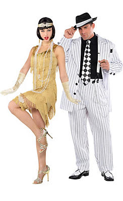 Roaring 20's Couples Costumes