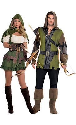 Robin Hood Couples Costumes