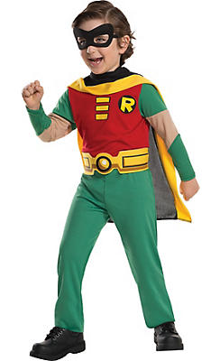 Little Boys Robin Costume - Teen Titans