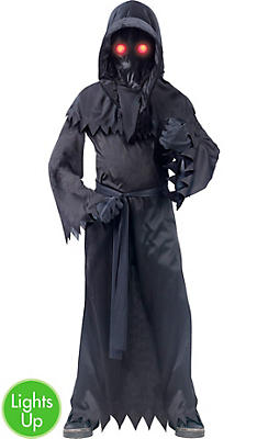 Little Boys Light-Up Unknown Phantom Costume