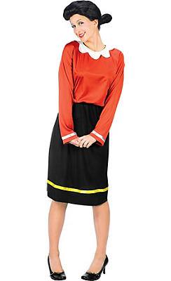 Adult Olive Oyl Costume
