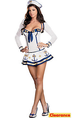 Adult Makin' Waves Sailor Costume