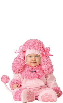 Baby Precious Poodle Costume Deluxe
