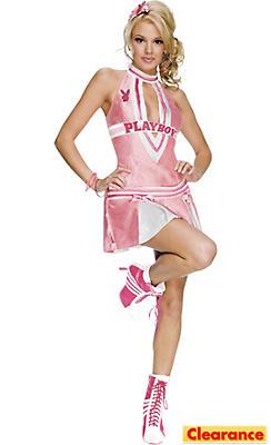 Adult Cheerleader Costume - Playboy