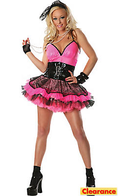 Adult Totally Pink 80's Costume