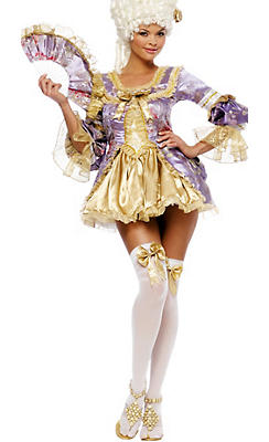 Adult Sexy Marie Antoinette Costume