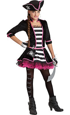 Girls High Seas Pirate Costume