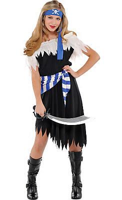 Teen Girls Shipwrecked Cutie Pirate Costume
