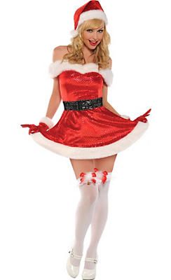 Adult Merry Kiss Me Costume