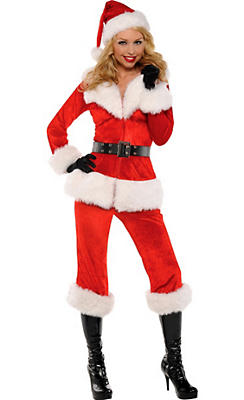 Adult Sexy Santa Babe Costume