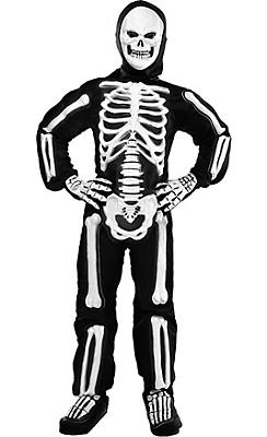 quick shop boys totally skelebones skeleton costume - Skeleton Halloween Costume For Kids