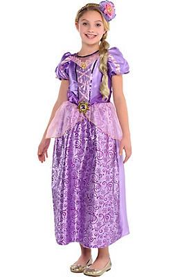 Girls Classic Rapunzel Costume