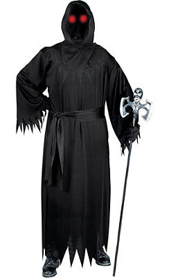 Adult Light-Up Unknown Phantom Costume Plus Size