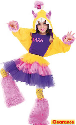 Girls Aarg Costume Deluxe