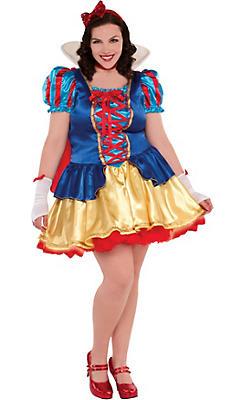 Adult Princess Snow White Costume Plus Size
