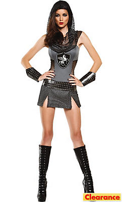 Adult Joan of Anarchy Knight Costume
