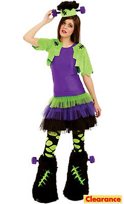 Girls Furry Creature Costume Deluxe