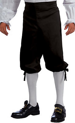 Adult Colonial Black Knickers