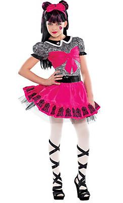 Girls Monster High Draculaura Costume