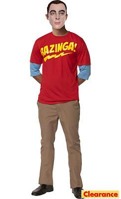 Adult Sheldon Costume - The Big Bang Theory