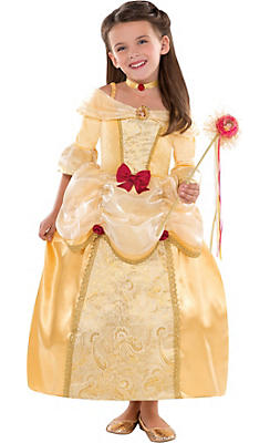 Girls Belle Costume Supreme