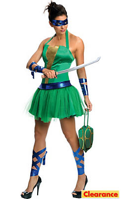 Adult Sassy Leonardo Costume - Teenage Mutant Ninja Turtles