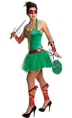Adult Sassy Raphael Costume - Teenage Mutant Ninja Turtles