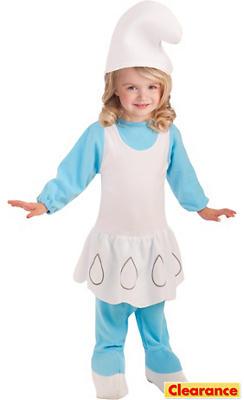 Toddler Girls Smurfette Romper Costume - The Smurfs 2