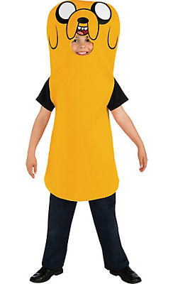 Boys Jake Costume - Adventure Time