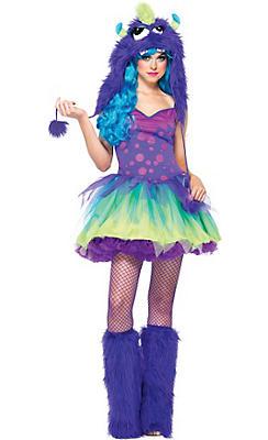 Adult Miss Monster Costume