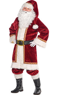 Adult Old-Time Santa Costume