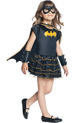 Toddler Girls Tutu Batgirl Costume - Batman